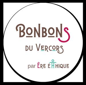 Logo de la confiserie les bonbons du Vercors à St-Just-de-Claix en Isère/Rhône-Alpes